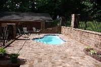 Crystal Springs Fiberglass Pool in Naples, TX