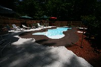Desert Springs Fiberglass Pool and Spa in Marks, MS